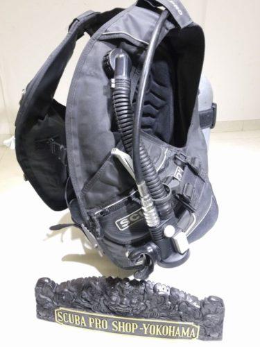 SCUBAPRO ステルスAIR2装備